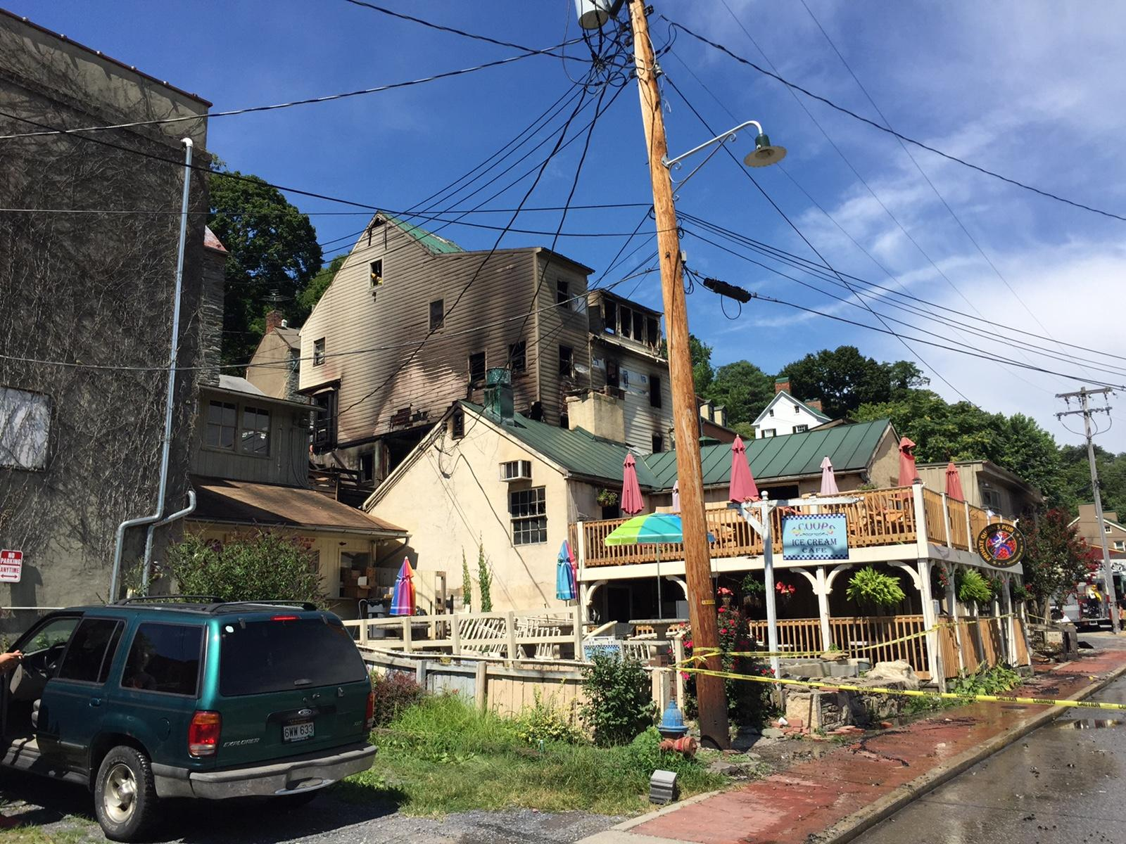 Fire Devastates Harpers Ferry's Commercial Area | West ...