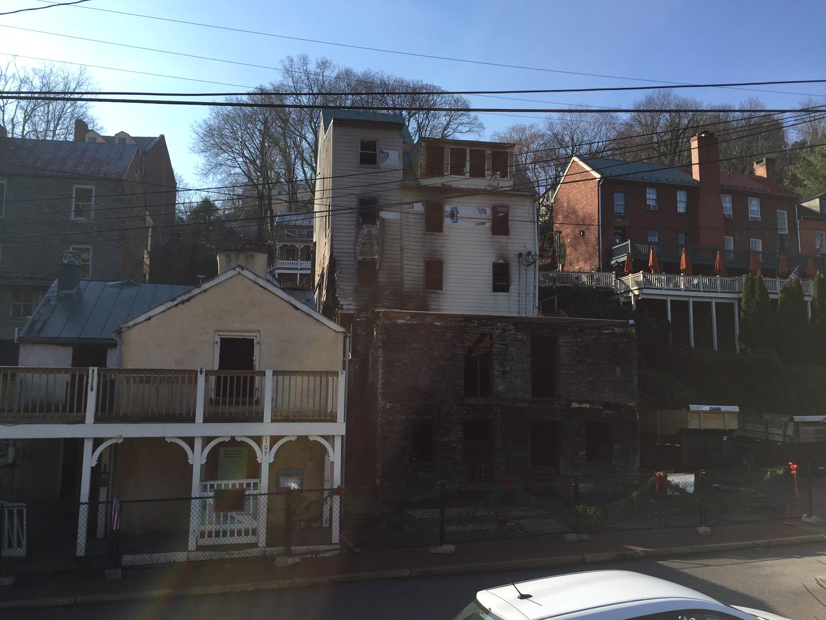Harpers Ferry Making Progress in Pricy Rebuild | West ...