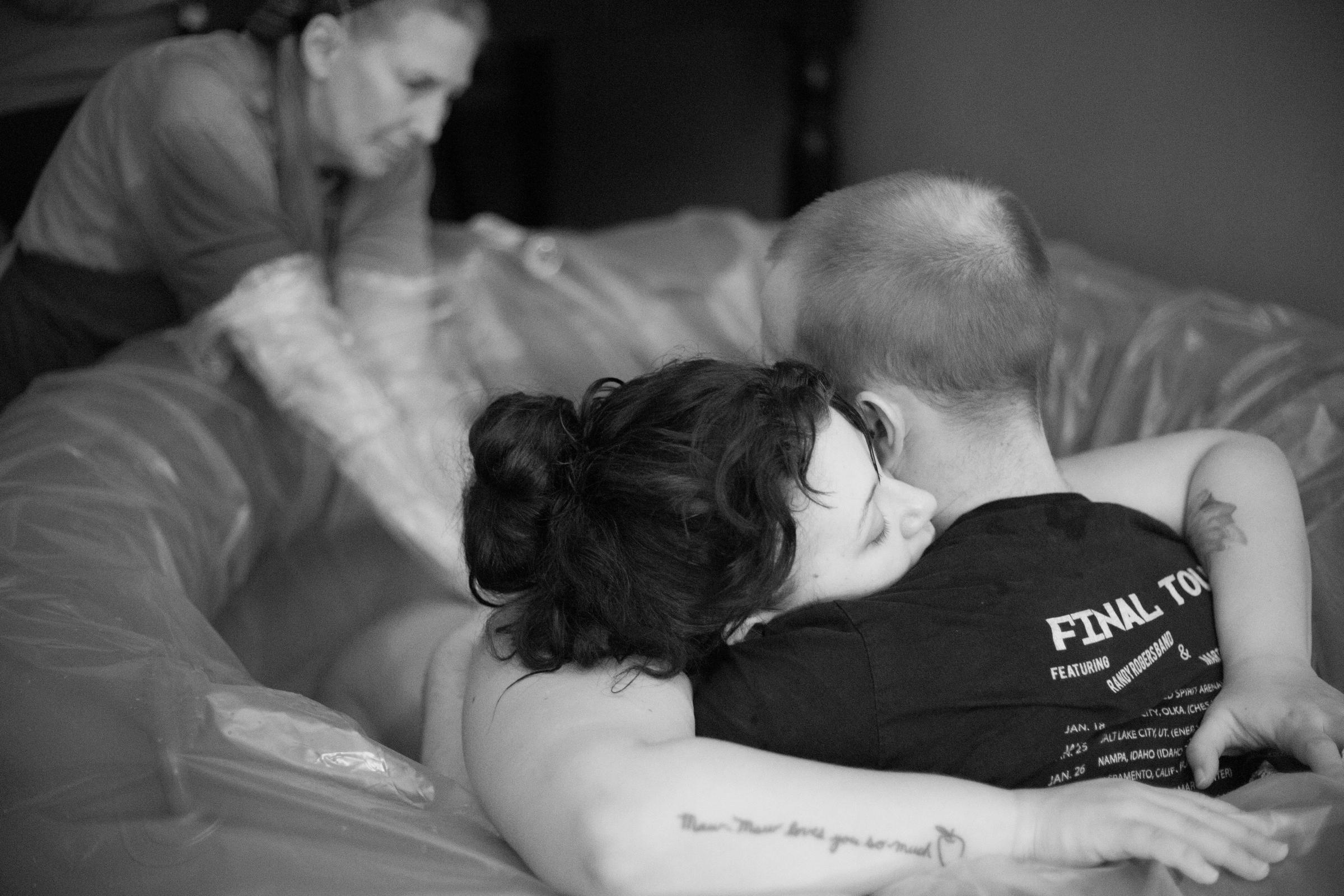 Pregnant Home Birth 86