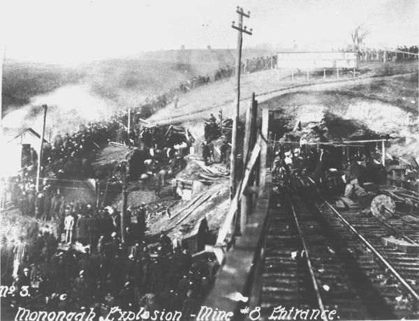 Monongah Mine No. 8 after Explosion, Marion County, W. Va