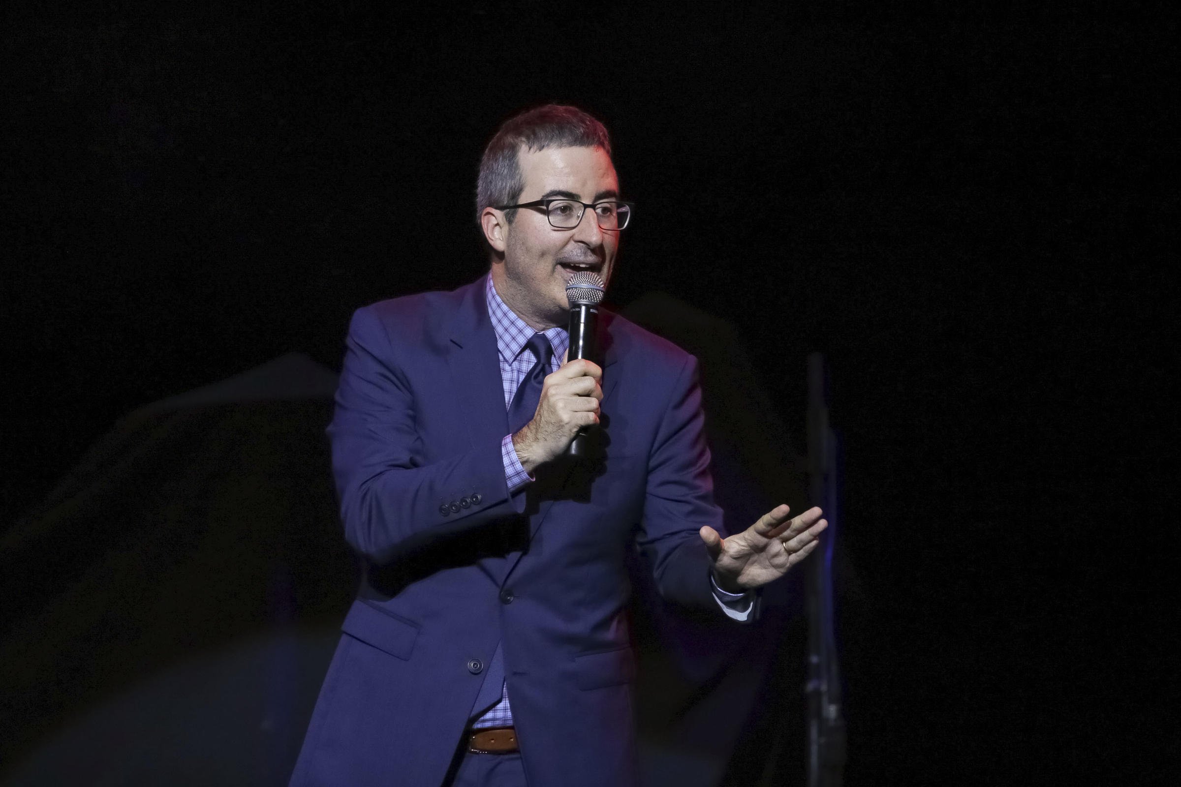Watch John Oliver Outline the Bleakness of Italian Game Shows, Upcoming Elections