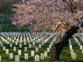 Present day Arlington National Cemetery