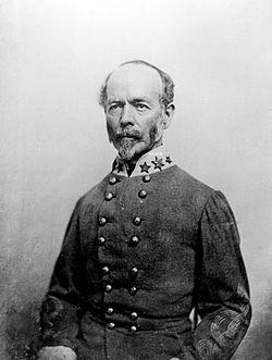 Confederate General Joe Johnston