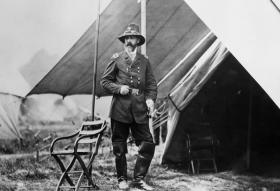 General George Meade in the field