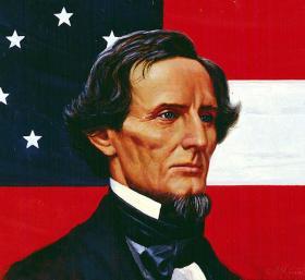 Artwork of Jefferson Davis