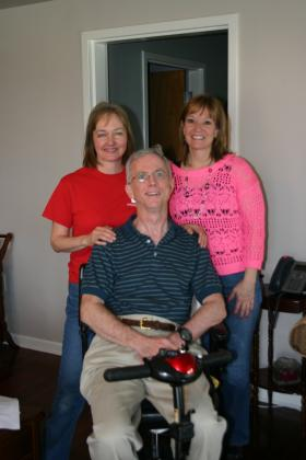 Rhonda McAleer, George McAleer, and Sonja Schaible