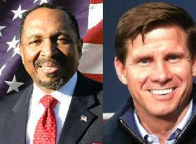 E.W. Jackson and Pete Snyder seeking the Republican nomination for Virginia's Lieutenant Governor.