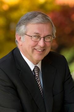 Virginia Tech President Charles Steger