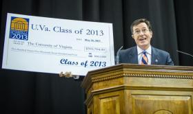 Stephen Colbert Speaks at UVa