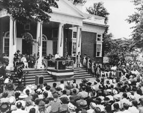 July 4, 1947 President Truman Speaks at Monticello