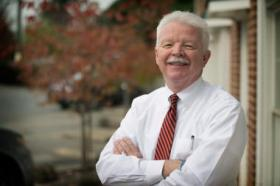 John Flood, assistant director of the University of Virginia's Office of Emergency Preparedness