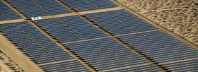 Representative image of a California solar project.