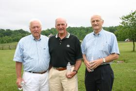 Hugh Stallard, Glen Thomas, and Cliff Thomas