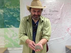 Archaeologist Dan Sayers