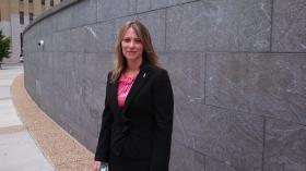 Former Secretary of the Commonwealth Janet Vestal Kelly
