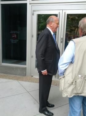 Jonnie Williams's lawyer Toby Vick