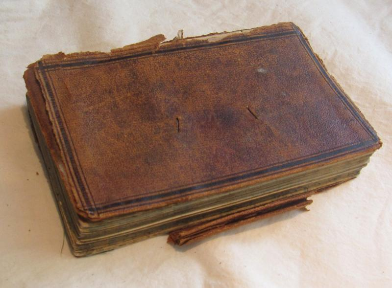 Rice D. Montague Account Book, circa 1860s