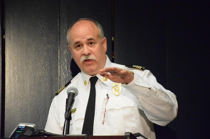 Charlottesville Fire Chief Charles Werner