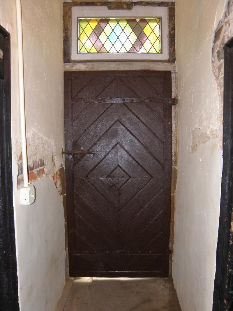 One of the oldest doors in Virginia.