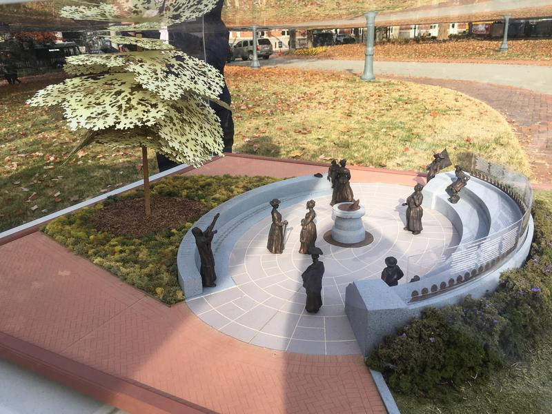 If fully funded, the monument will feature statues of 12 women.
