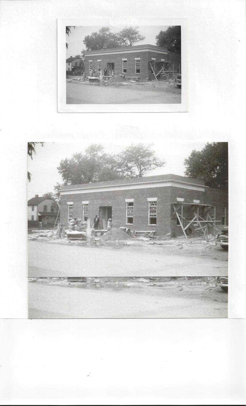 The Departmental Progressive Club under construction in 1955