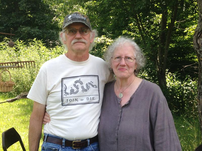 Gary and Jeannette Robinson hope to protect their land from the ACP.  It's been in the family since the Revolutionary War.