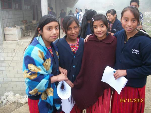 Students from Seeds of Wisdom