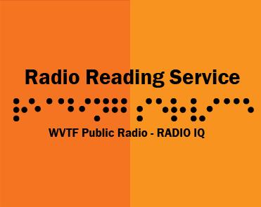 radio reading service information and volunteer sign up wvtf