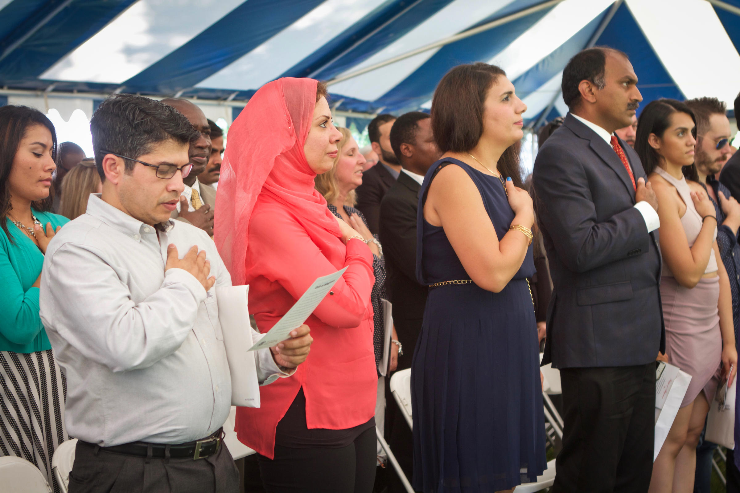 Meet Virginia's Newest Citizens: Attending a Naturalization Ceremony