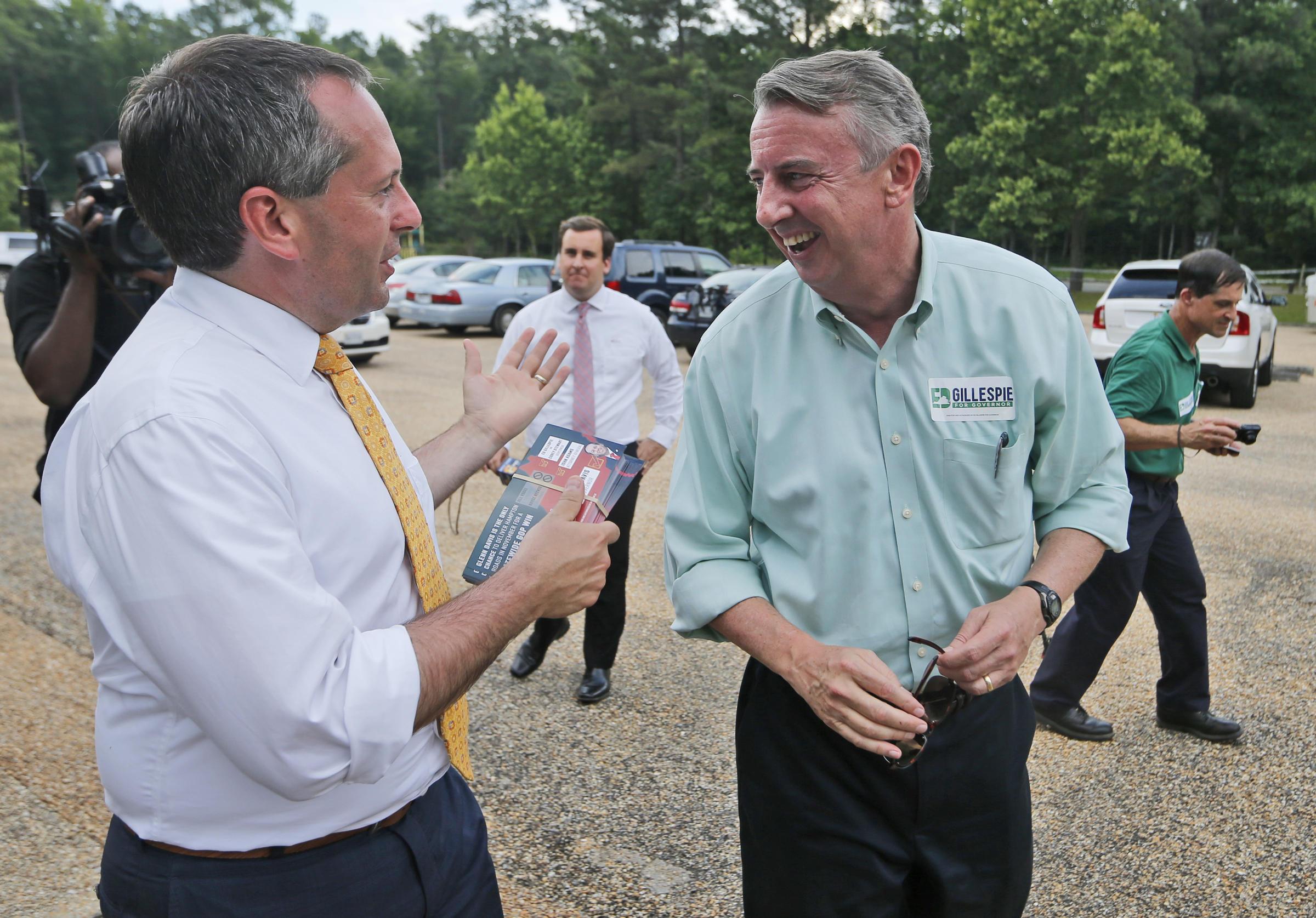 Establishment candidates prevail in Virginia governor primaries