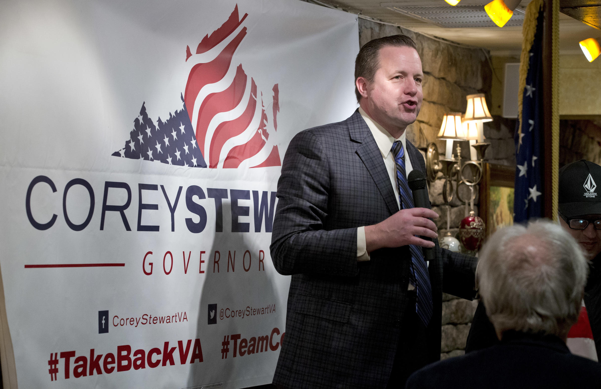 Corey Stewart Vows 'Vicious, Ruthless' Run Against Tim Kaine