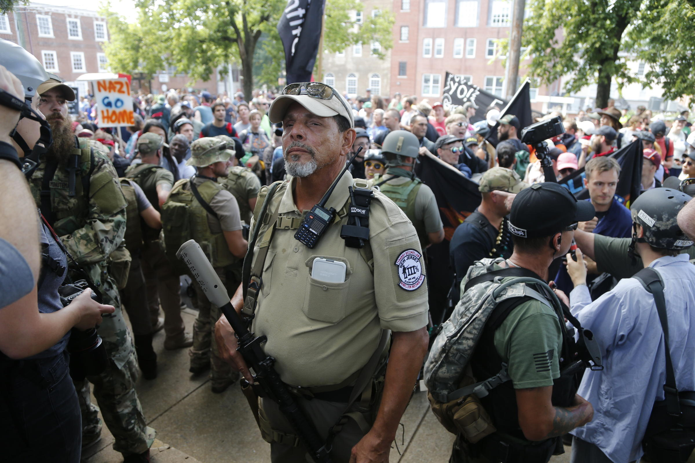 Charlottesville Revisited: White Nationalists Hold New Torch-Lit Protest