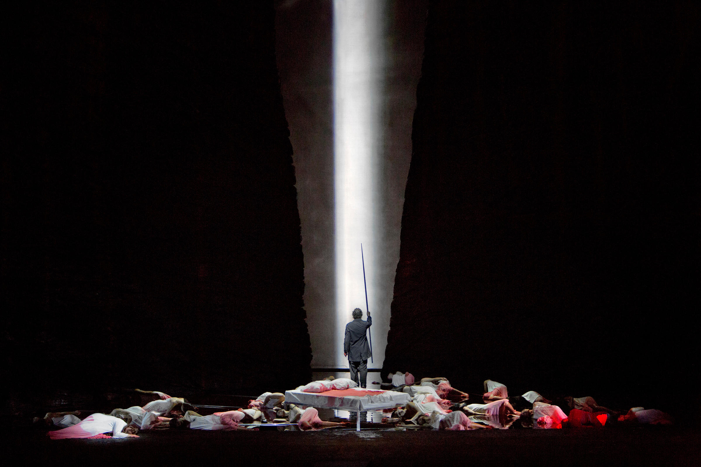 A Scene From Act II Of Wagners Parsifal With Jonas Kaufmann As The Title Character