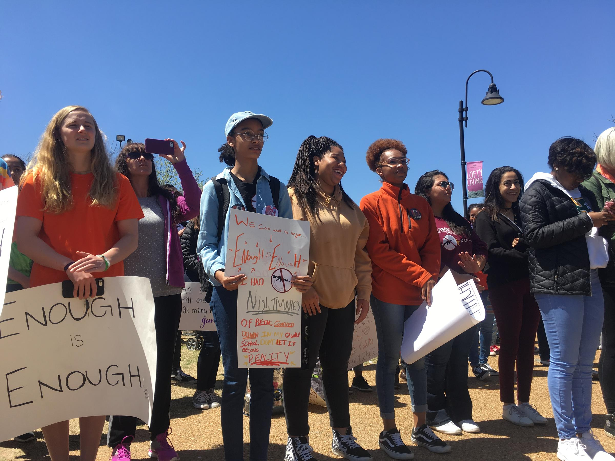 Students across Knox County call for change on National Walkout Day