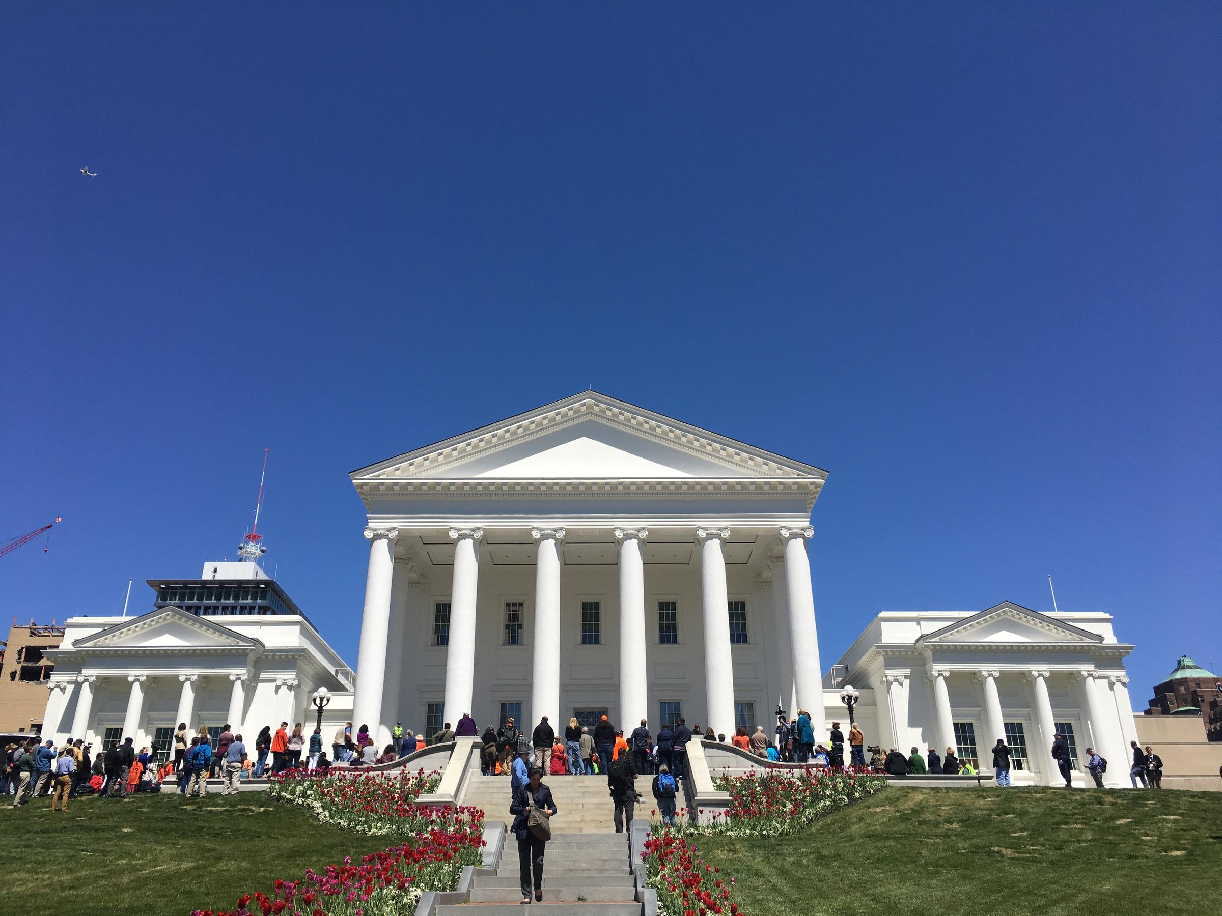 National School Walkout: Students march from Brown's Island to Va. State Capitol