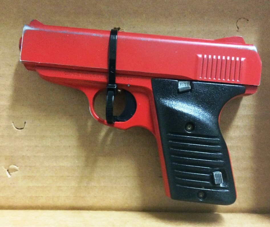 Toy Guns Look Like Real Guns Gun Painted to Look Like