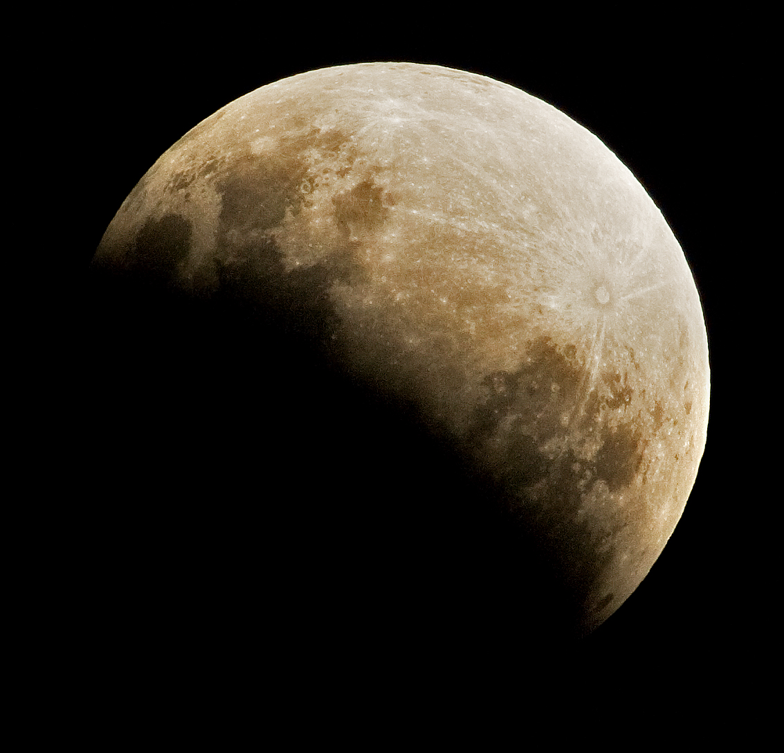 a guide to experience the partial lunar eclipse saturday wvxu