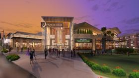 Latest artist rendering of Horseshoe Casino Cincinnati.