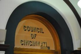 Cincinnati Council chamber at City Hall.