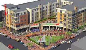 Rendering of USquare Development neat UC.