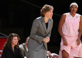 Former Miami University Women's Basketball head coach Maria Fantanarosa.