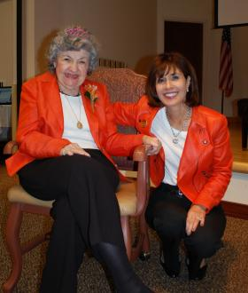 Carol Silver Elliott (right) will be the only American to speak at a retirement industry conference in Shanghai, China this week.