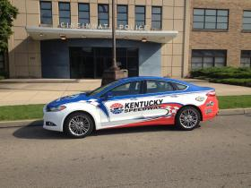 """The """"Top Cop Challenge,"""" part of Police Memorial Week, is May 16th at the Kentucky Speedway."""