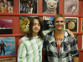 Nick Hazelbaker and Travis Hanna at the School of Rock in Mason