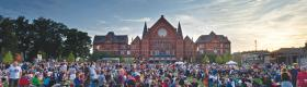 Washington Park is the site for Cincinnati Opera's community concert, Opera in the Park.