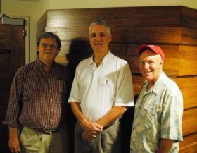 Howard Wilkinson, John Erardi and Greg Rhodes