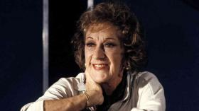 "Marian McPartland, longtime host of ""Marian McPartland's Piano Jazz"" on NPR."