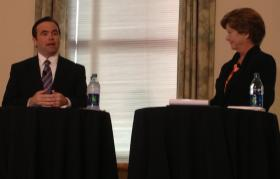 John Cranley and Roxanne Qualls will meet in a second mayoral debate tonight at 7 pm.