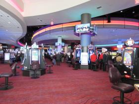 It has more than 1,600 VLTs on its 68,000 square foot gaming floor.