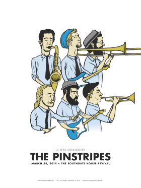 The Pinstripes will play their 10th Anniversary Show on March 28 at Newport's The Southgate House Revival
